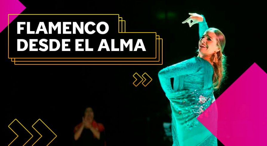 Lourdes Carlín: Energía y talento en el Festival Flamenco y Punto