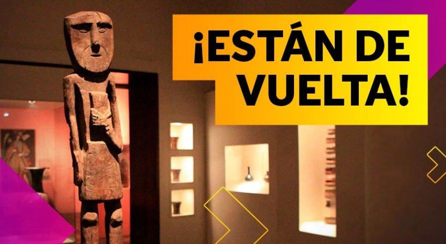 ¡Los museos y sitios arqueológicos ya están abiertos!