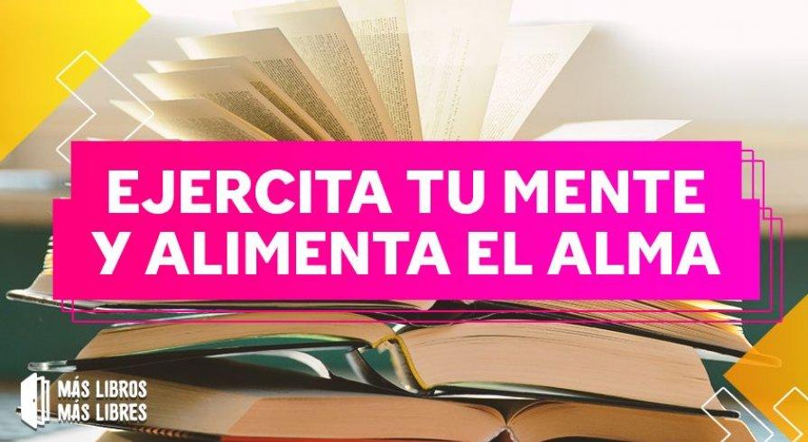 Más libros Más libres: la nueva campaña del IRTP y la Biblioteca Nacional del Perú
