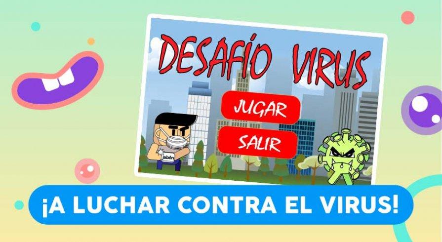 Desafío virus: es hora de que los chicos aprendan sobre el coronavirus jugando