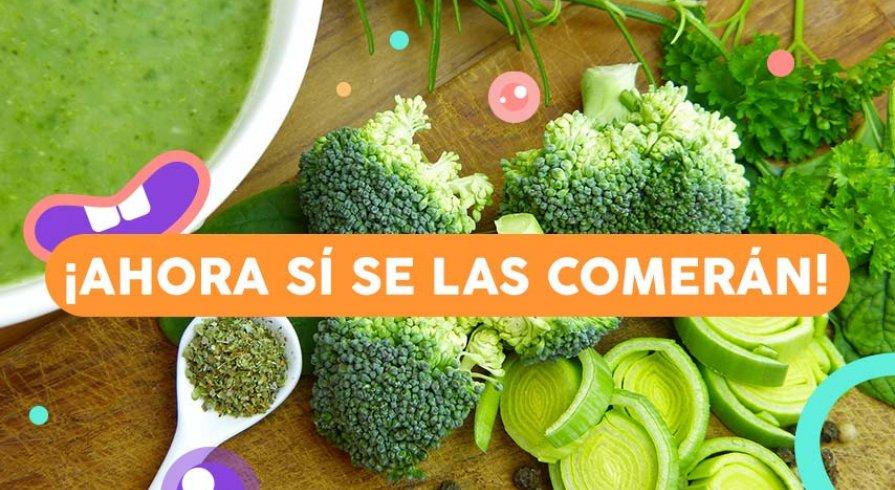 6 tips para que los chicos coman todas sus verduras