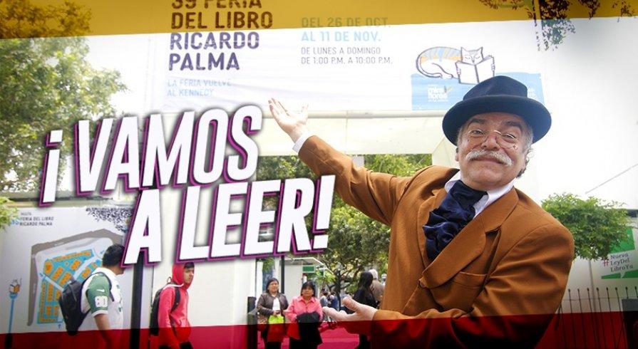 Conoce a los libros más populares de la Feria Ricardo Palma 2018