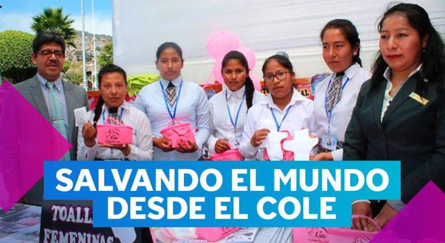 Estas chicas crearon una alternativa ecológica a las toallas higiénicas
