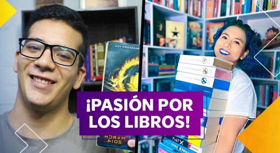 ¿Cómo convertirse en booktuber? Mario Cano y Laly Arce te dan los pasos para hacerlo