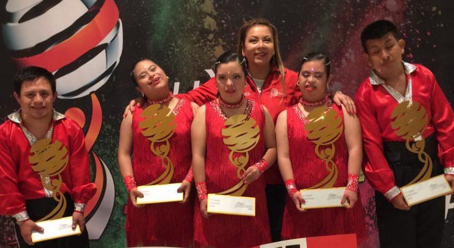 Jóvenes con síndrome de Down triunfan en campeonato internacional