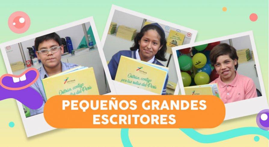 El libro de narraciones inéditas que está escrito por niños peruanos