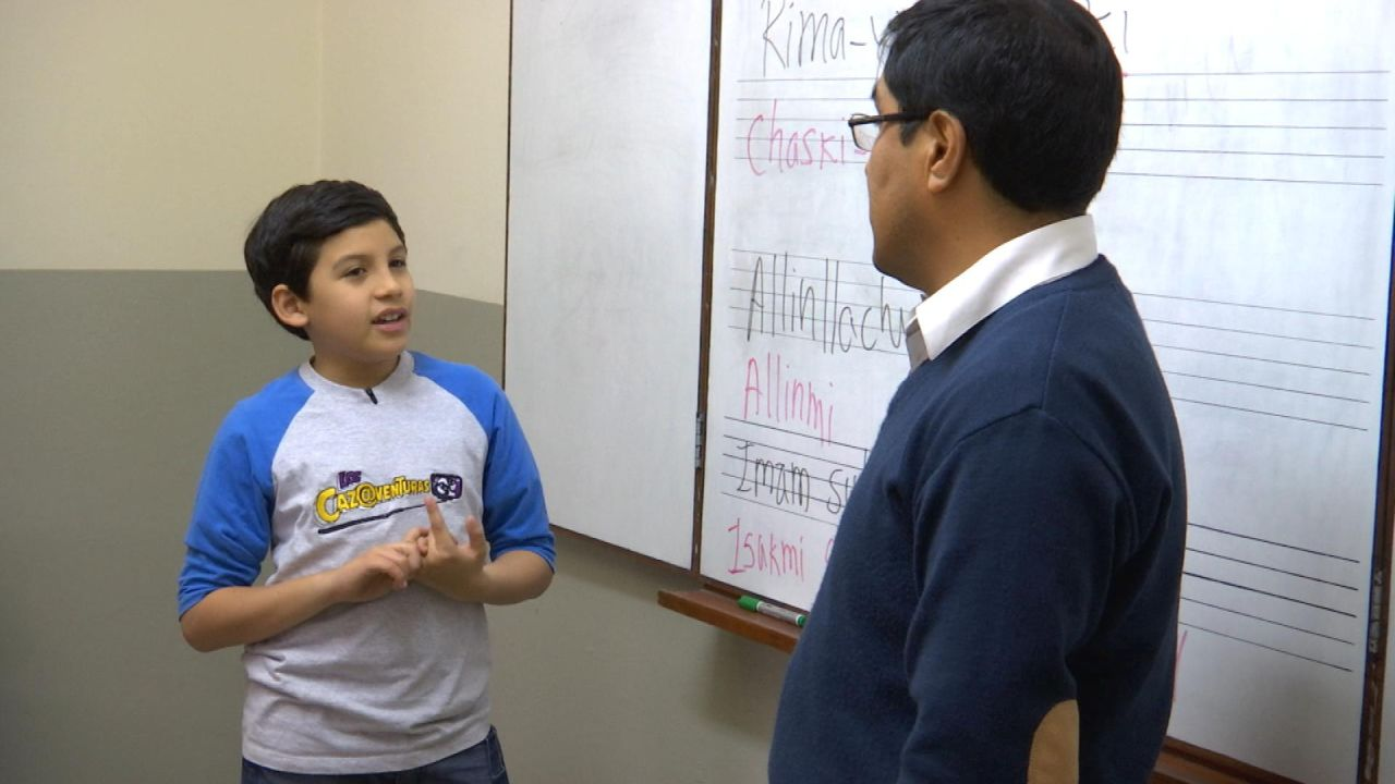 ¿Cuáles son las principales lenguas que hablan los niños en nuestro país?