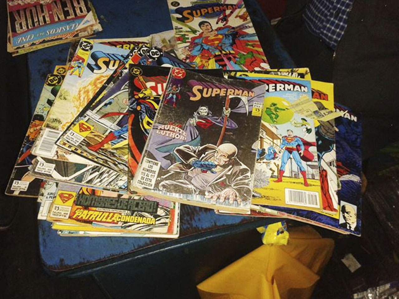 """Superman"" en Terra Comic podrás encontrar diferentes historias de este superhéroe."