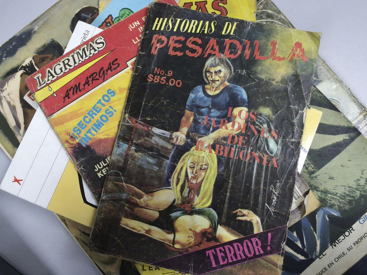 """""""Historias de pesadilla"""" es la versión terrorífica de las historietas mexicanas de los 80."""