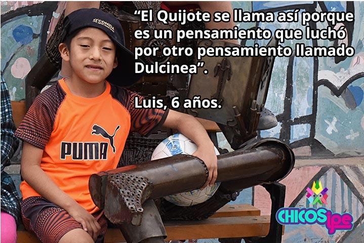 El Quijote y su manchita