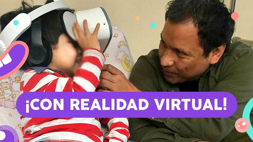 Esta iniciativa busca reducir el estrés durante el tratamiento de niños y niñas con cáncer