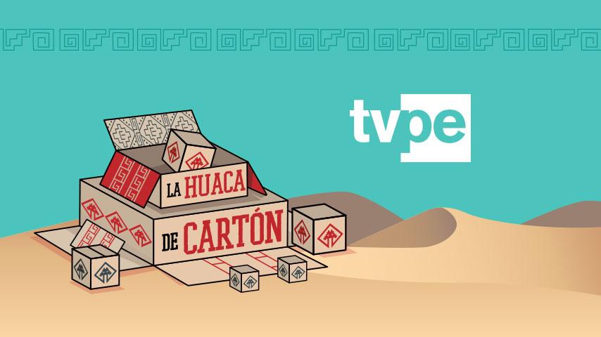 La Huaca de Cartón llega a TVPerú