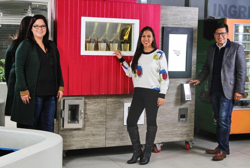 Rita: La máquina inteligente que hace jugos   canalipe.tv